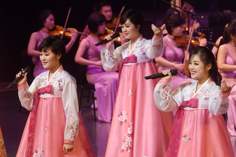 Orkestra Pop Korea Utara Menghangatkan Hati di Selatan